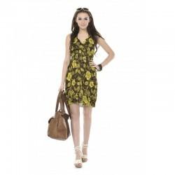 Vestido estampado de verão